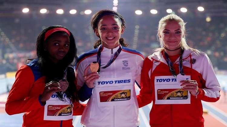 البريطانية كاترينا تحرز ذهبية الخماسي في بطولة العالم لألعاب القوى