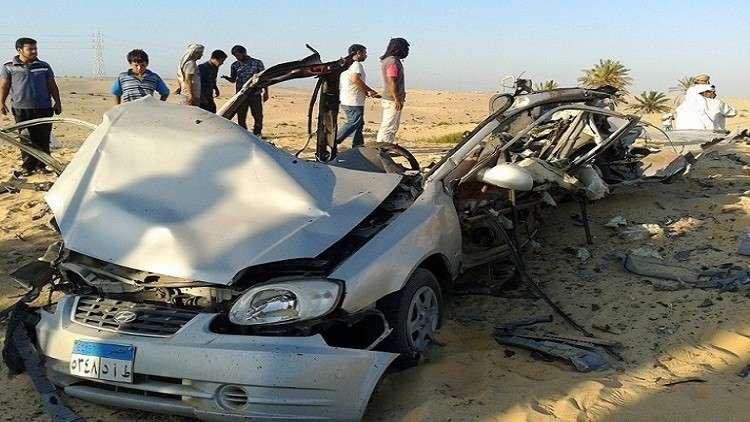 مصر.. مقتل 9 أشخاص ووقوع إصابات في حادث سير