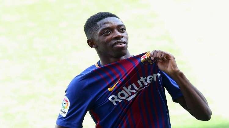 ديمبيلي: رفضت ريال مدريد وسان جيرمان من أجل برشلونة