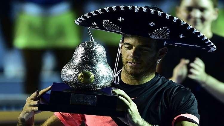 ديل بوترو يتوّج بلقب بطولة أكابولكو المكسيكية للتنس