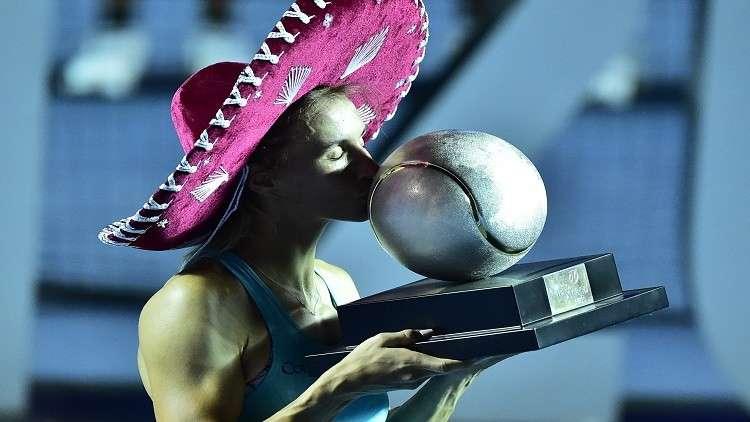 تسورينكو ملكة لبطولة أكابولكو للتنس