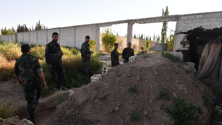 سانا: الجيش السوري يوجه ضربات نارية على الإرهابيين في الغوطة ويستعيد قرى وبلدات