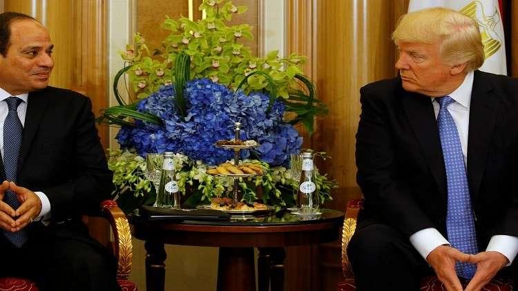 القاهرة: ترامب يناقش هاتفيا مع السيسي الوضع الإقليمي