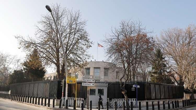 إغلاق السفارة الأمريكية في أنقرة بسبب تهديد أمني