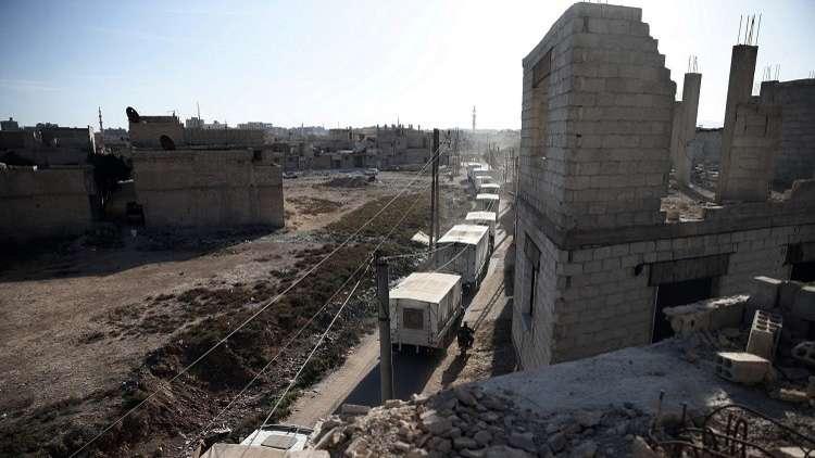 مسلحو الغوطة الشرقية يطلبون المساعدات الإنسانية شرطا لإخراج المدنيين