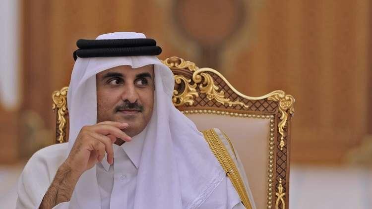 مبعوث الكويت يحمل رسالة خطية من أمير بلاده لأمير قطر