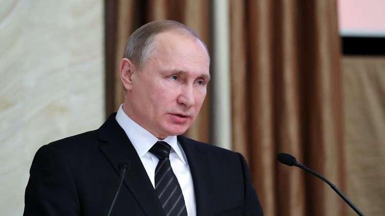 بوتين: الأمن الروسي أحبط نشاط 72 مخابراتيا أجنبيا في 2017