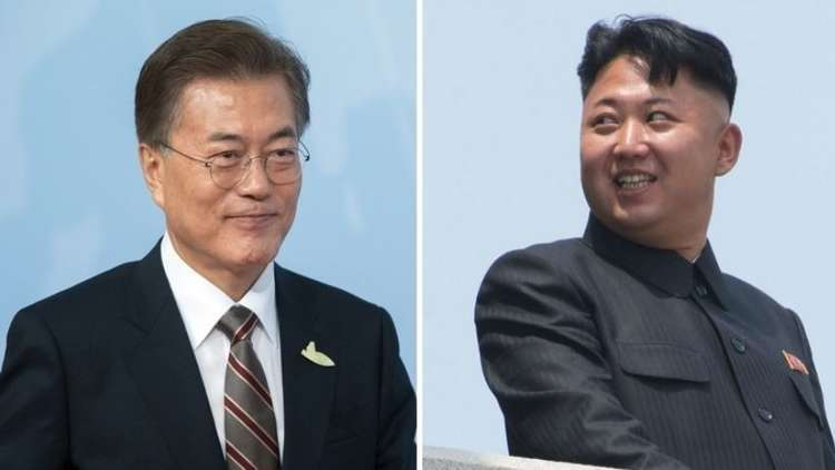 كيم جونغ أون يقيم مأدبة عشاء على شرف مبعوثي كوريا الجنوبية