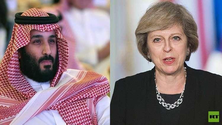 ماي تعتزم إطلاع بن سلمان على مخاوف بلادها تجاه اليمن