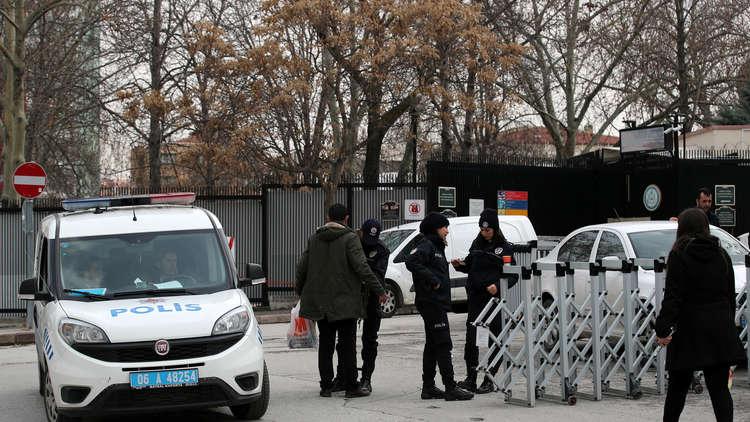 اعتقال 4 عراقيين بتهمة التخطيط لمهاجمة السفارة الأمريكية في أنقرة