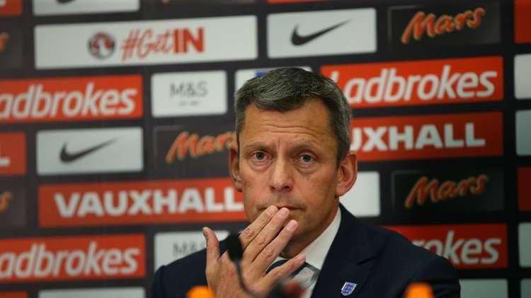 رئيس رابطة انجلترا لكرة القدم مارتن غلين