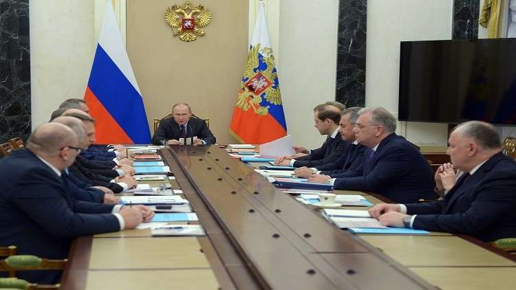 بوتين: حجم تصدير الأسلحة الروسية يتجاوز 15 مليار دولار عام 2017