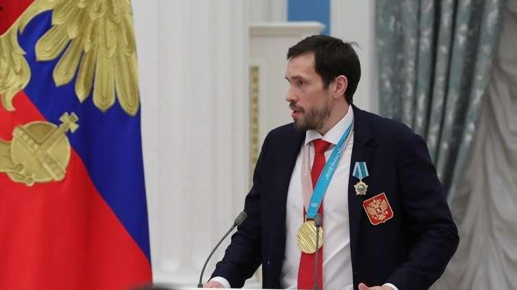 رياضي روسي يهدي ذهبية أولمبياد 2018 لدير للإناث
