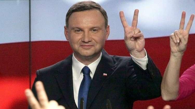 الرئيس البولندي أنريه دودا