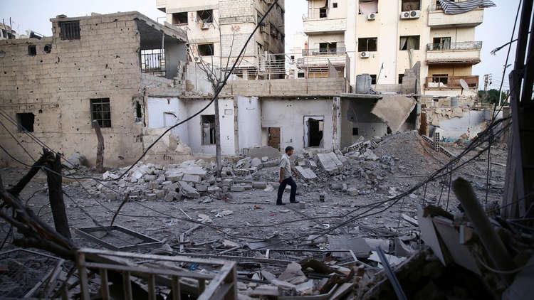 قتلى وجرحى بقذائف أطلقها مسلحون على أحياء متفرقة في دمشق