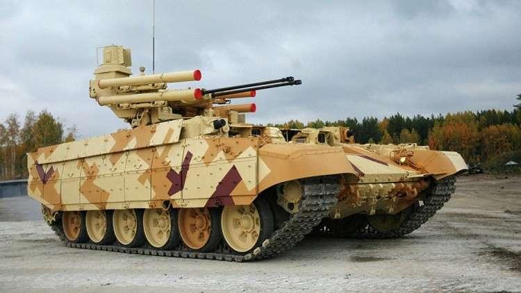 الجيش الروسي يتسلم 4 أنواع من المدرعات الجديدة