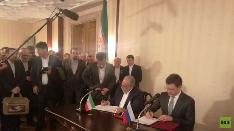 إبرام مذكرة بين موسكو وطهران لضخ الغاز من إيران إلى الهند