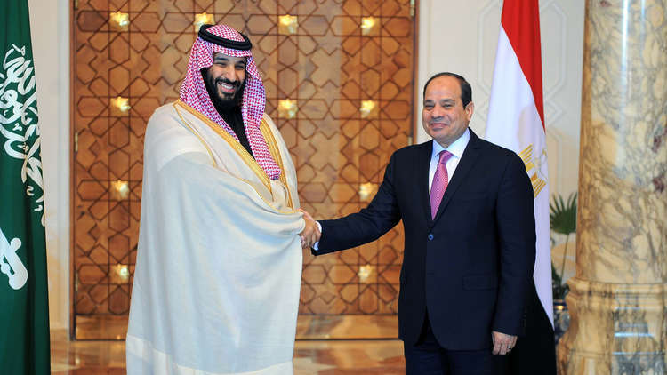 بيان مصري سعودي مشترك في ختام زيارة بن سلمان إلى مصر