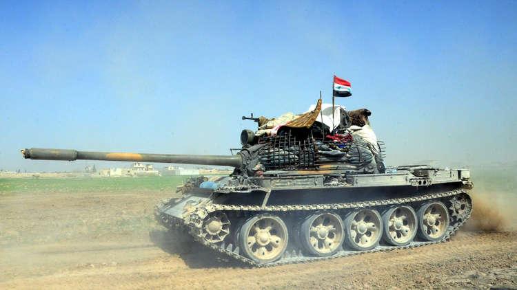 الجيش العربي السوري نحو شق الغوطة إلى نصفين ومحاصرتها