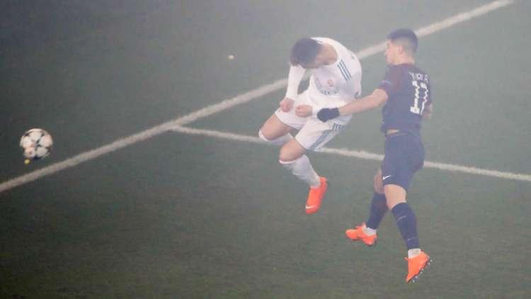 رونالدو نجا من كارثة حقيقية في مباراة سان جيرمان (صورة)