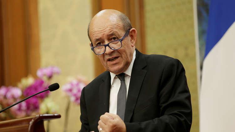 وزير الخارجية الفرنسي: أوروبا يجب أن تظهر قوتها وترد بحزم على رسوم ترامب