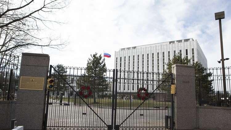 السفارة الروسية ترد على اتهامات واشنطن بخصوص القصف في سوريا