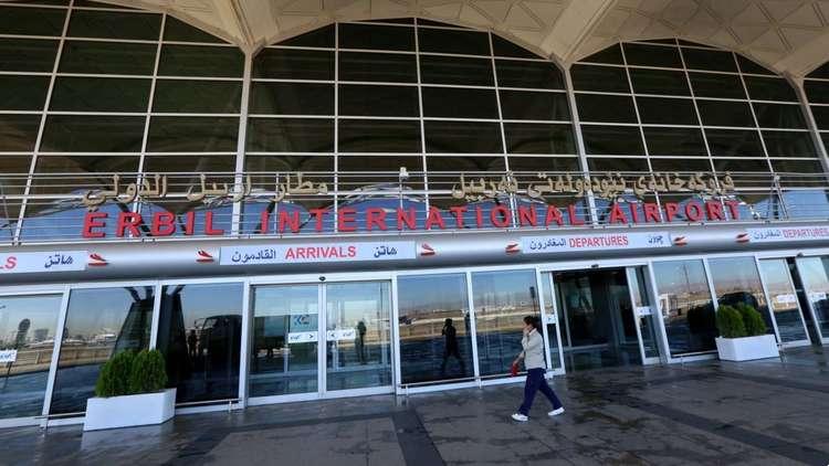 مطار أربيل يسيير أول رحلة جوية دولية منذ حظر الطيران