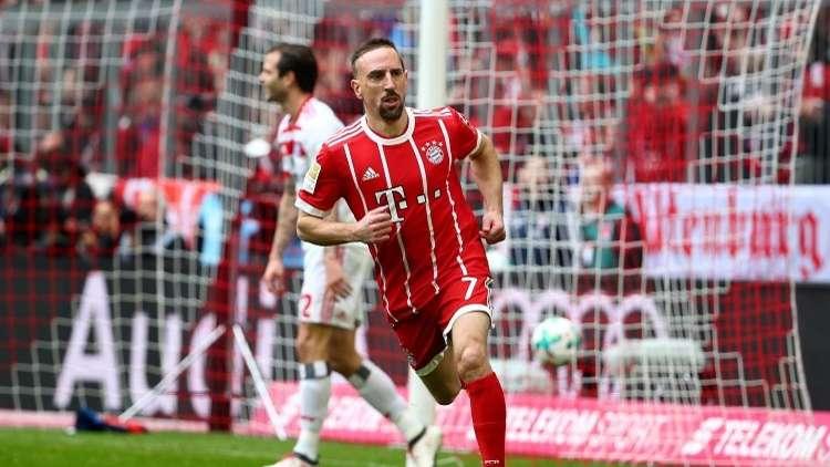 فيديو.. ريبيري يسجل هدفين رائعين في في مرمى هامبورغ