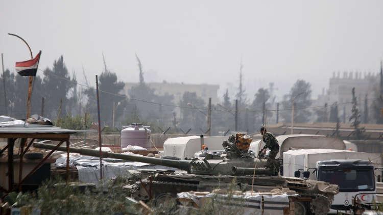 سانا: الجيش يحرر عددا من المحتجزين لدى المسلحين في مسرابا بالغوطة