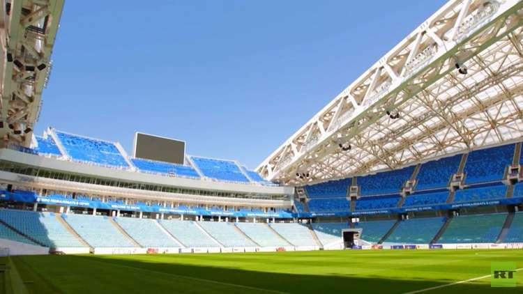 تواصل استعدادات روسيا لاستضافة للمونديال