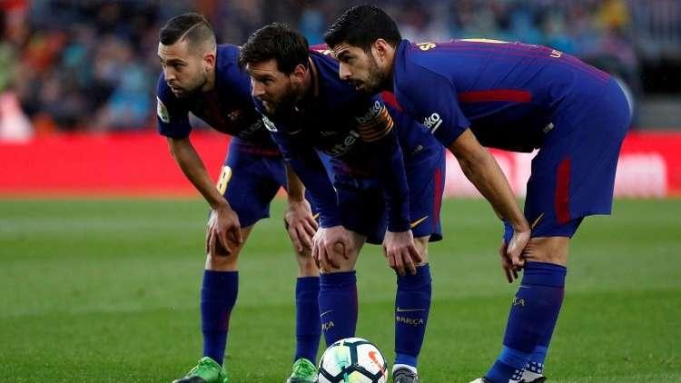 برشلونة يواجه ملقا من دون ميسي