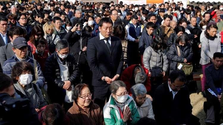 اليابان تحيي ذكرى ضحايا زلزال 2011