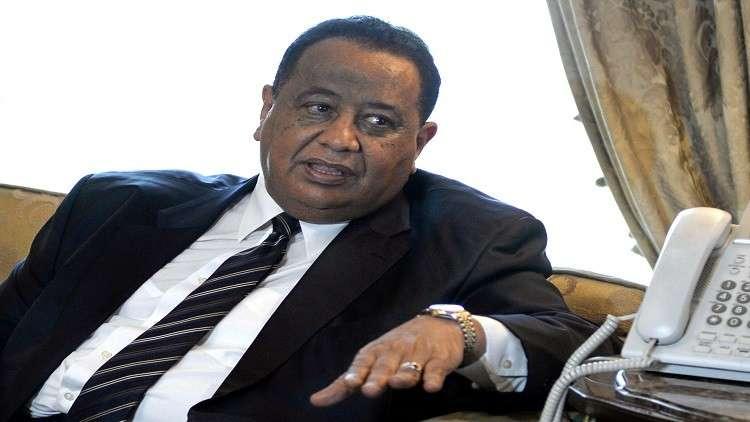 غندور يشيد بالعلاقات السودانية القطرية