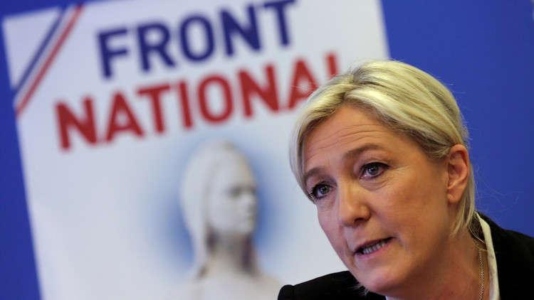 إعادة انتخاب لوبان زعيمة لحزب