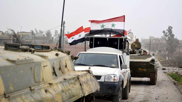 الجيش السوري يقسم الغوطة الشرقية إلى شطرين ويكمل تطويق دوما