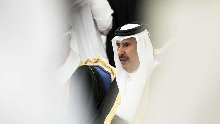 حمد بن جاسم يغرّد: قطر شاركت في التقارب مع إسرائيل