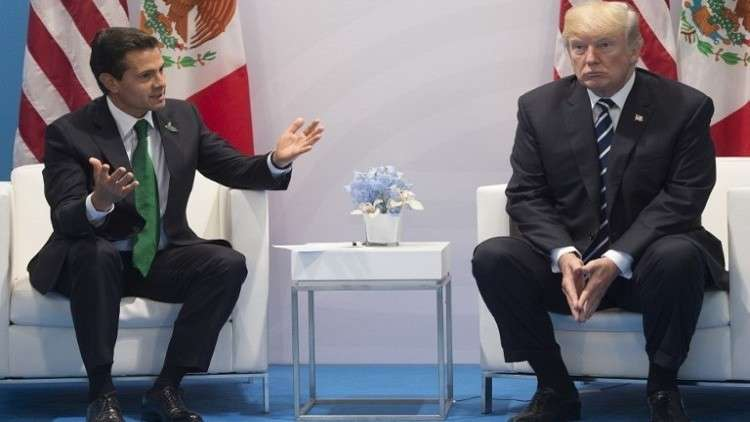 ترامب مخاطبا رئيس المكسيك: