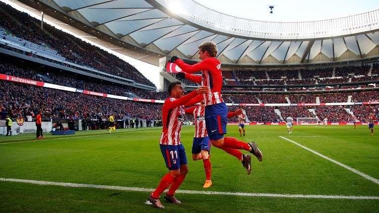 أتلتيكو مدريد يهزم فيغو بثلاثية.. فيديو