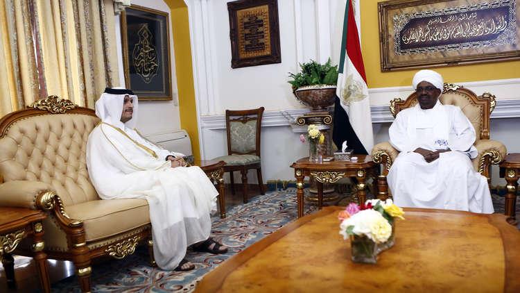 رئيس السودان يتسلم رسالة من أمير قطر