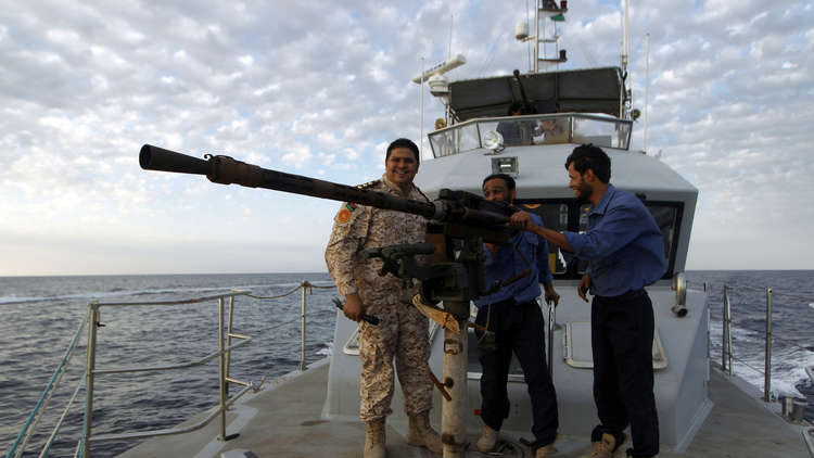 البحرية الليبية شرقي البلاد تحتجز سفينة تركية!