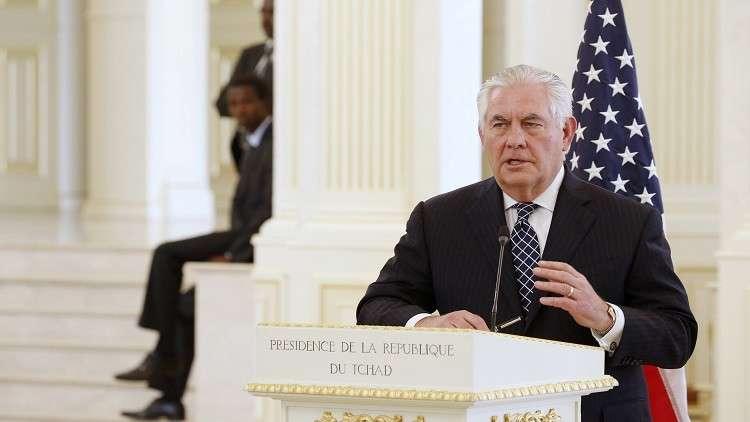 تيلرسون قلق إزاء تواجد مسلحين موالين لداعش في منطقة الساحل بإفريقيا