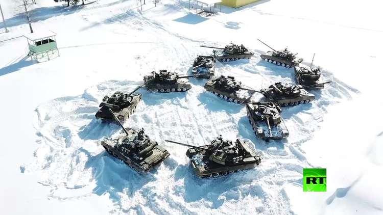 الجيش الروسي يهنئ النساء بعيدهن الدولي