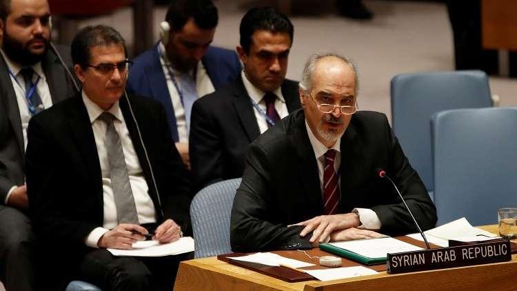 الجعفري: تصريحات هايلي وتهديداتها تحريض للمسلحين في سوريا لاستخدام السلاح الكيميائي