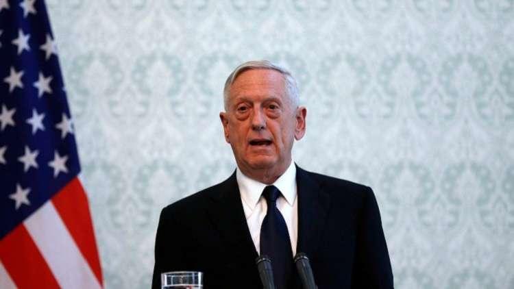 ماتيس: نستشعر رغبة طالبان بإجراء مفاوضات سلام
