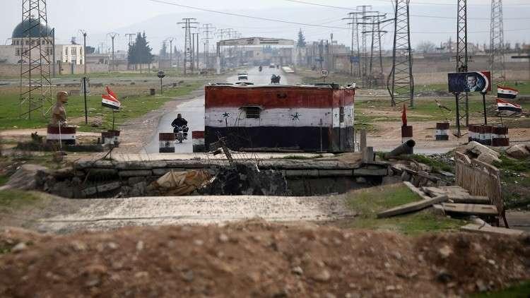 الجيش السوري يجلي مسلحي