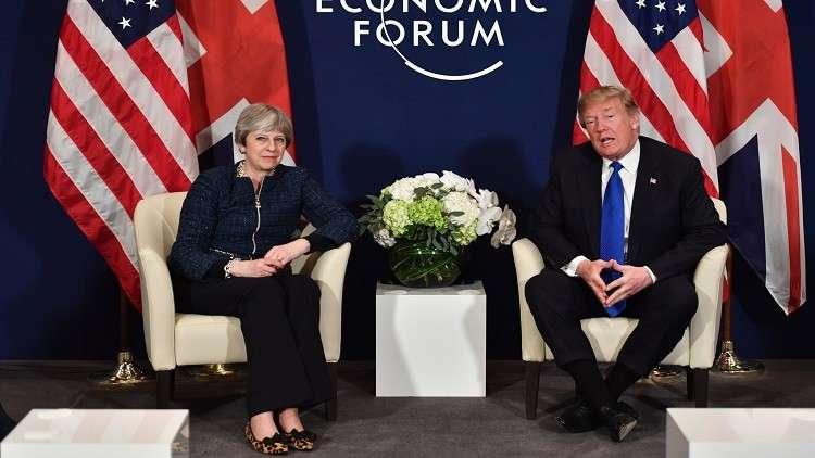 ترامب يؤكد لماي وقوف واشنطن إلى جانب لندن في قضية سكريبال