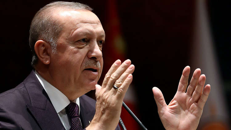 أردوغان: قواتنا تنقذ مستقبل شعوب المنطقة