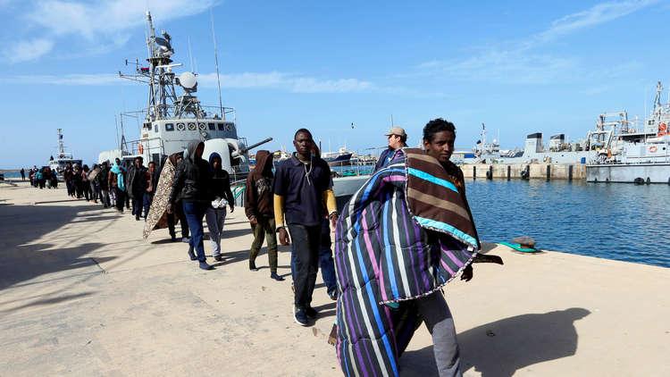 خفر السواحل الليبي ينقذ 119 مهاجرا منهم 4 مصريين
