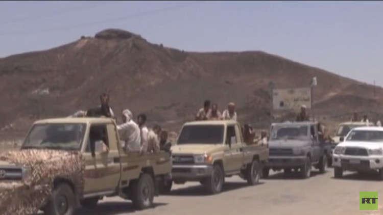 قوات هادي تتقدم في نهم وتقترب من صنعاء