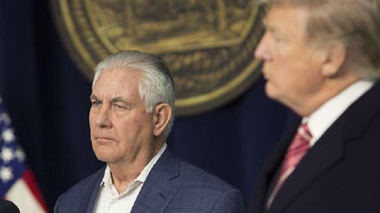 تقرير: لماذا تخلص ترامب من تيلرسون؟